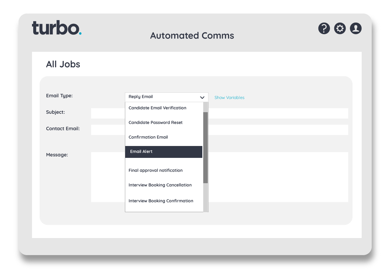 Automate candidate responses